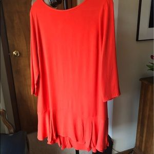 Drop waist crepe dress. NWT